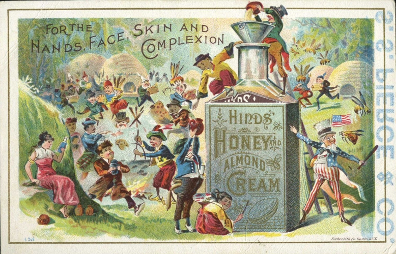 Hinds-Cream-Postcard-Color-Ad-Reverse